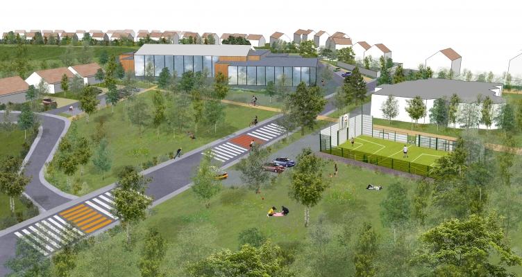 PoOla - architecture du paysage - Programmation plaine du Val d'Albian - Saclay
