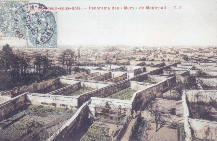 PoOla - architecture du paysage - Les murs à pêches de Montreuil